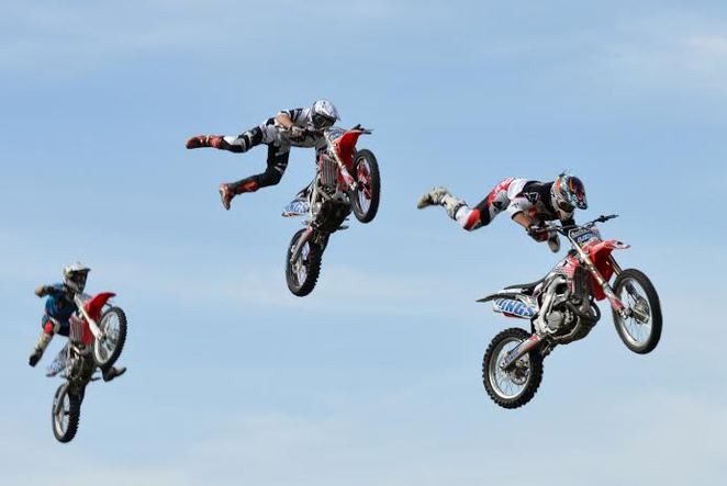 Wolverhampton and Black Country Show, Boddog Lings Freestyle Motocross Team