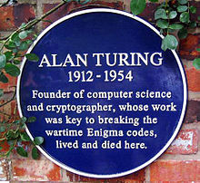 Alan Turing, Royal Exchange Theatre, Manchester