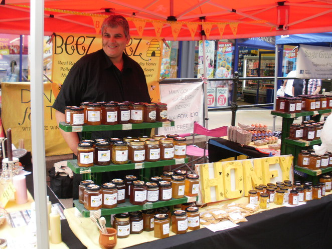 Beez Neez honey, Lichfield Food Festival