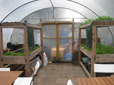 FARM: shop back garden tent