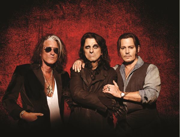 Hollywood Vampires, Alice Cooper, Joe Perry, Johnny Depp, Genting Arena Birmingham, The Darkness, The Damned