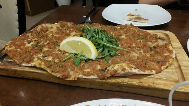 lahmacun, pizza, turkish pizza, armenian pizza, chicken, casserole, chicken casserole, turkish, turkey, turkish kitchen, hatfield