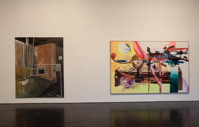 Paintings From The Zabludowicz Collection, albert oehlen, albert oelhen
