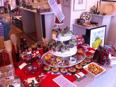 pop up shop, christmas, flash in the pan, oxford, summertown