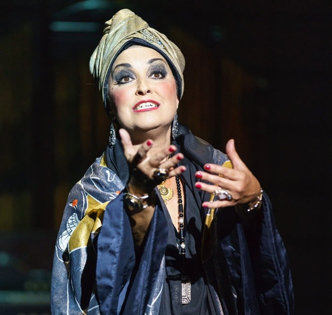 Ria Jones, sunset boulevard, Birmingham hippodrome