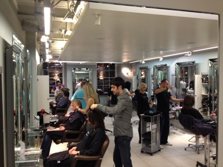 Richard Ward, hairdresser, free haircuts, London