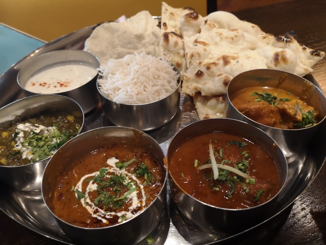 The Chef's Special Thali at Indico. Photo Alison Brinkworth