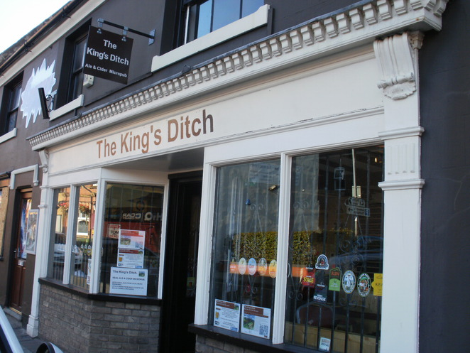 The King's Ditch, Tamworth, micro-pub