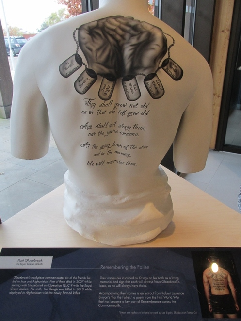 Tribute Ink, National Memorial Exhibition