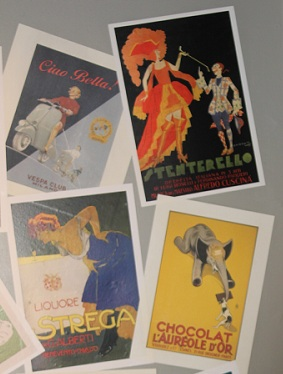 vintage, french posters