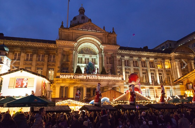 Frankfurt Christmas market in Birmingham, events in Birmingham