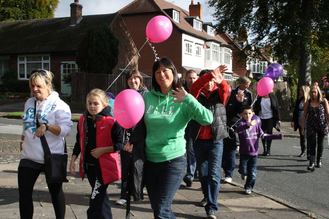John Taylor Hospice Birthday Walk