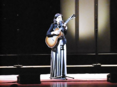 Katie Melua, Gori Women's Choir, Georgia, In Winter, Symphony Hall Birmingham, Review