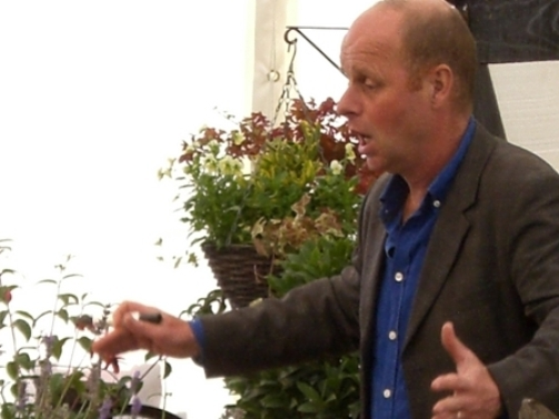 Malvern Autumn Show Joe Swift
