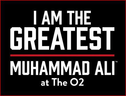 Muhammad Ali, I Am The Greatest exhibition, O2 London
