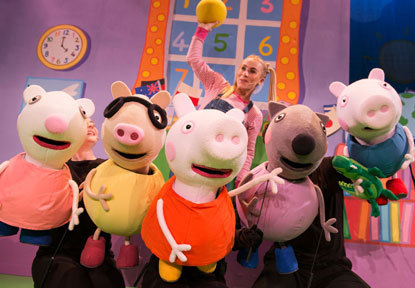 Peppa Pig's big splash, criterion theatre