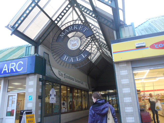 barrow in furness, town centre, indoor market, market hall