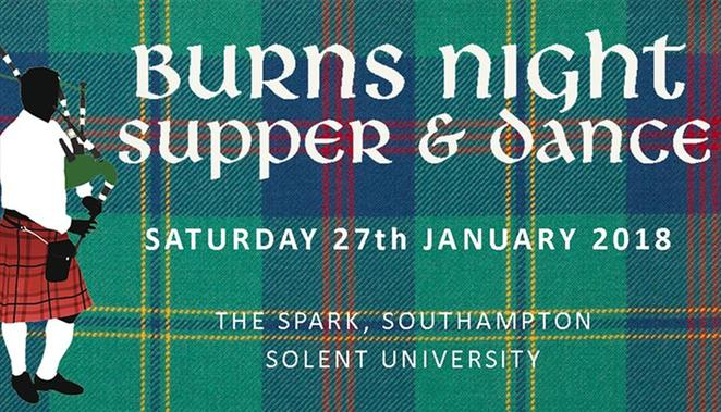 burns night supper and dancing, the rainbow centre, southampton burns night, robert burns, address to a haggis