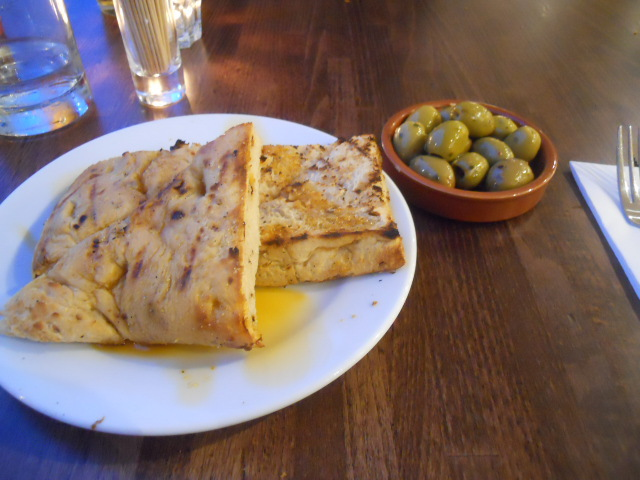 chimichanga, mexican, restaurant, food, wimbledon, focaccia, olives