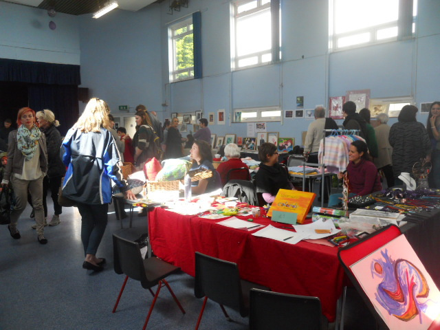 colliers wood community centre, collywood festival pop up gallery