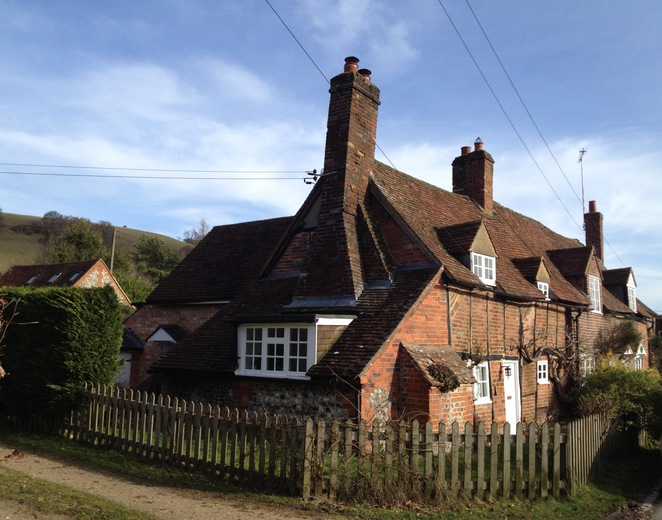 Cottage, Turville Village, Buckinghamshire