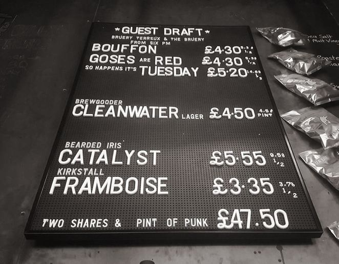 craft beer guest ale drinks brewdog bar dundee