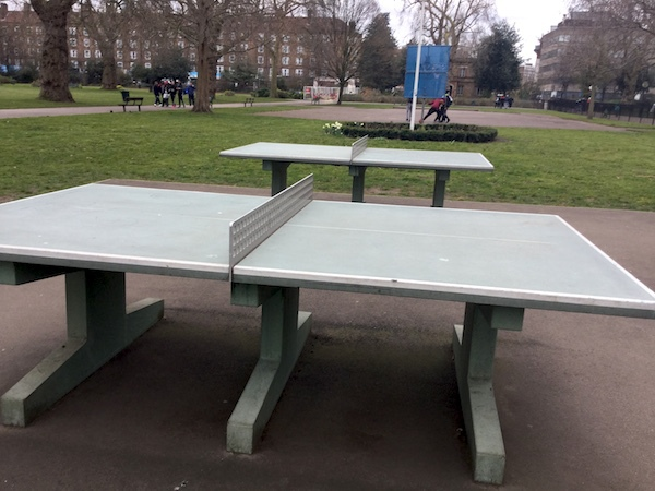 kennington park, table tennis, ping pong