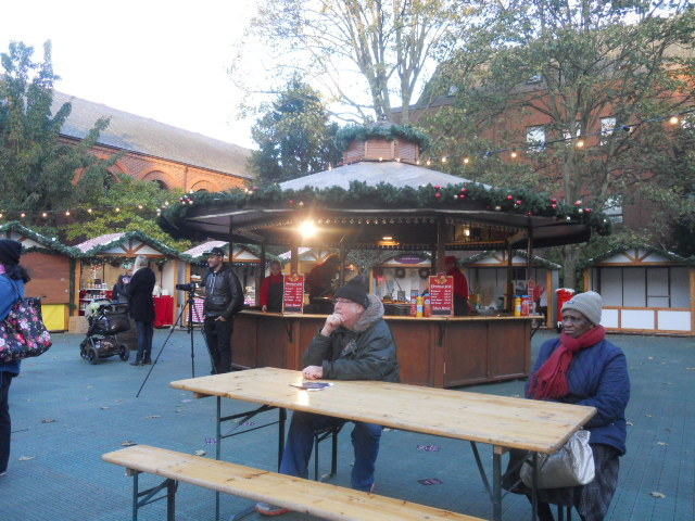 kingston, christmas market, memorial gardens, german food