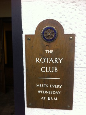 Rotary, Forfar, The Stag, meeting place, Angus