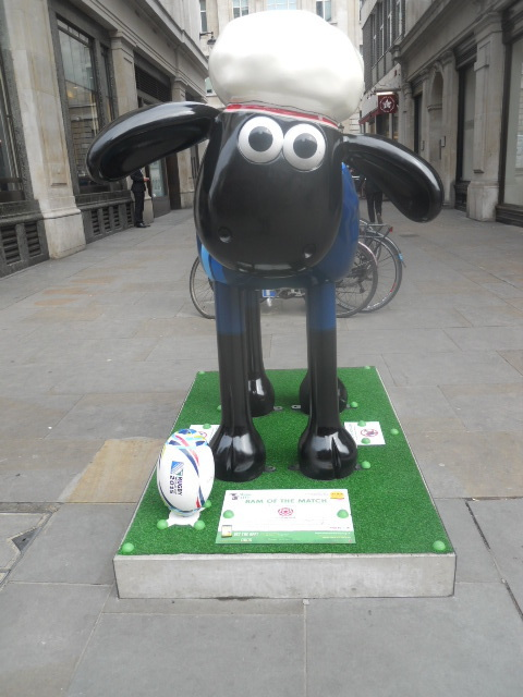 shaun in the city, ram of the match