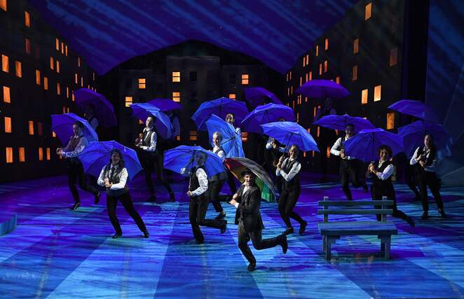 stage experience, Singin' in the rain, Birmingham, Alexandra Theatre, 2019