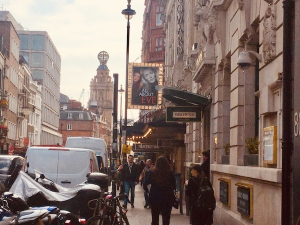 All About Eve, Noel Coward Theatre, Gillian Anderson, Lily James