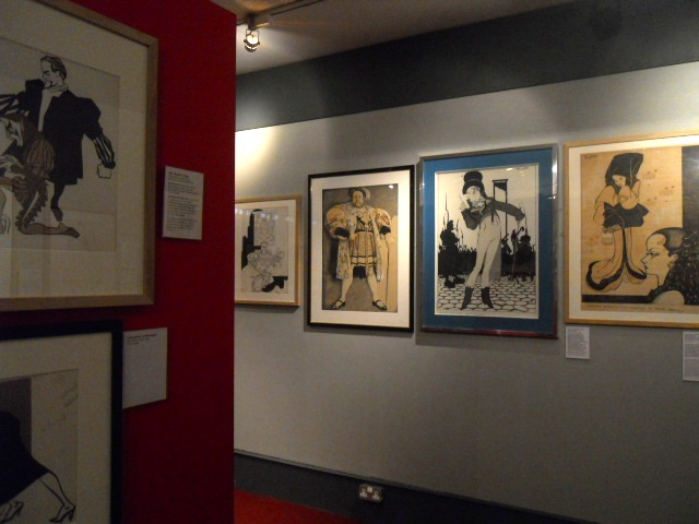 cartoon museum, the age of glamour, exhibition