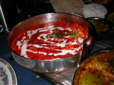 chutneys, indian restaurant, vegetable, tikka masala