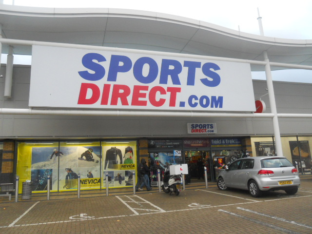 colliers wood, tandem centre, sports direct