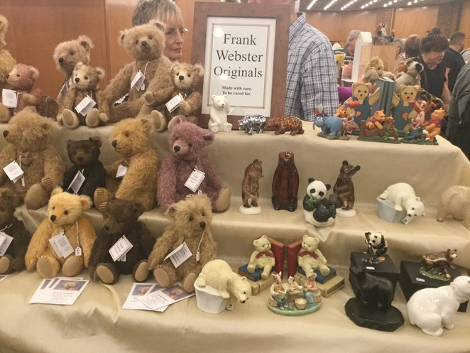 hugglets, teddies, winter fest, frank Webster originals