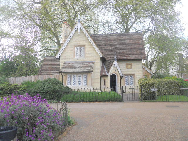 kensington gardens, kensington palace, buck hill cottage