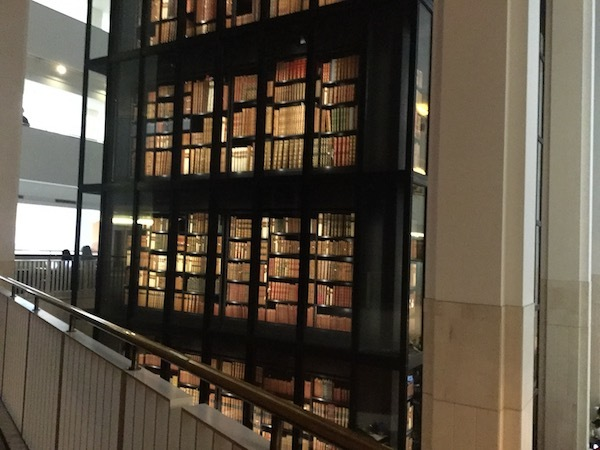 the British Library, the king's tower library