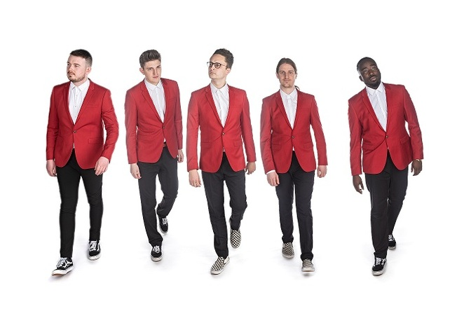 The Sons of Pitches, Joe Novelli, Joe Hinds, Joe Belham, Josh Mallett, Midé Naike, Birmingham Town Hall, A Cappella, The Naked Choir