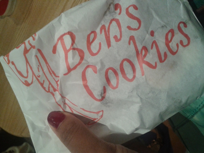 Ben's Cookies, cookies, treats