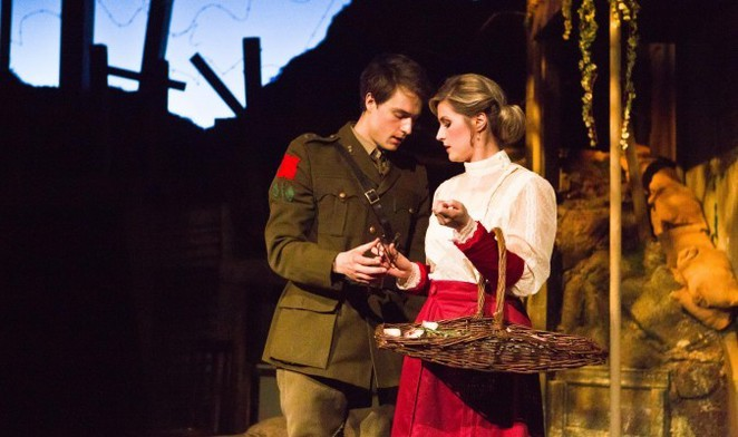 Birdsong, Sebastian Faulks, theatre, The REP,