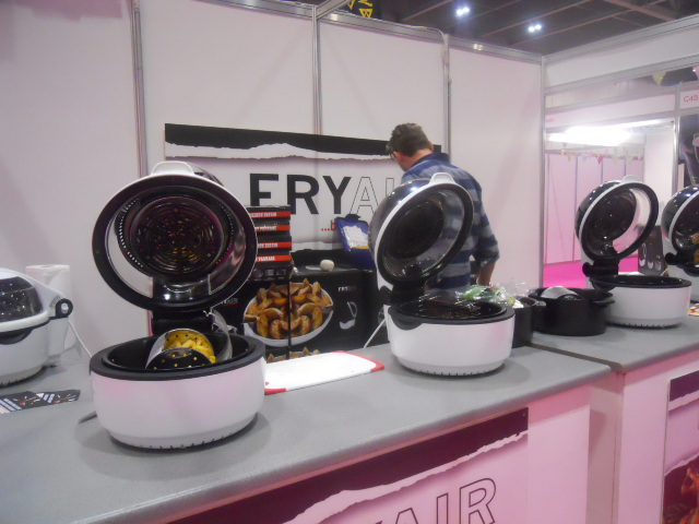 cake and bake show, airfry