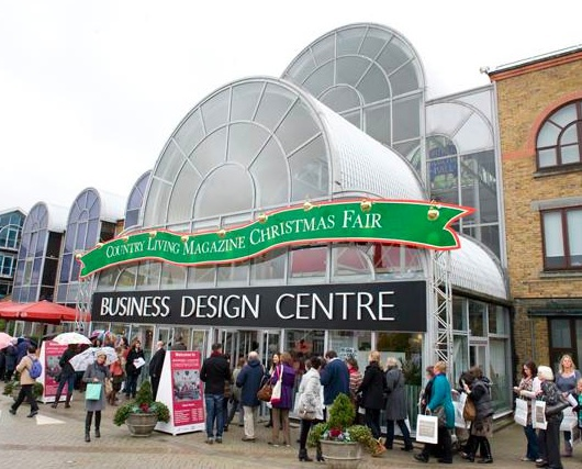 country living, christmas fair, business design centre