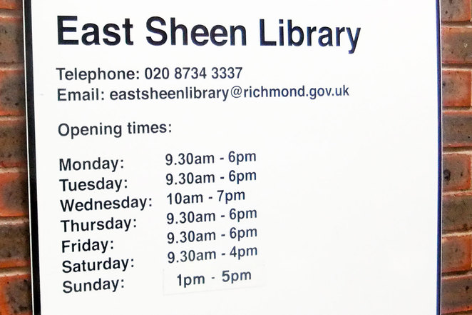 East Sheen Library