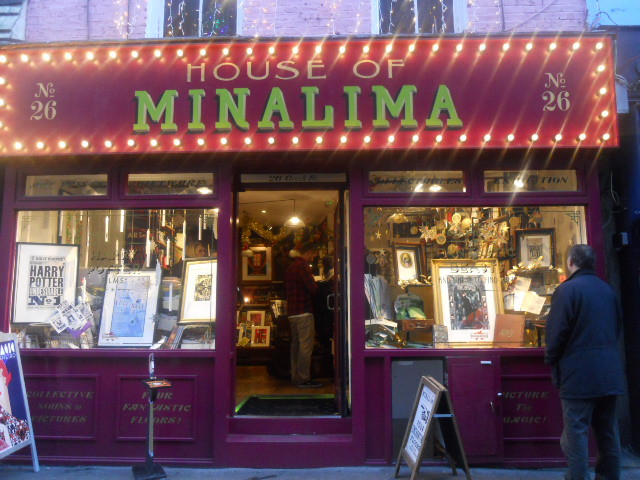 fantastic beasts and where to find them, house of minalima, exhibition, graphic design