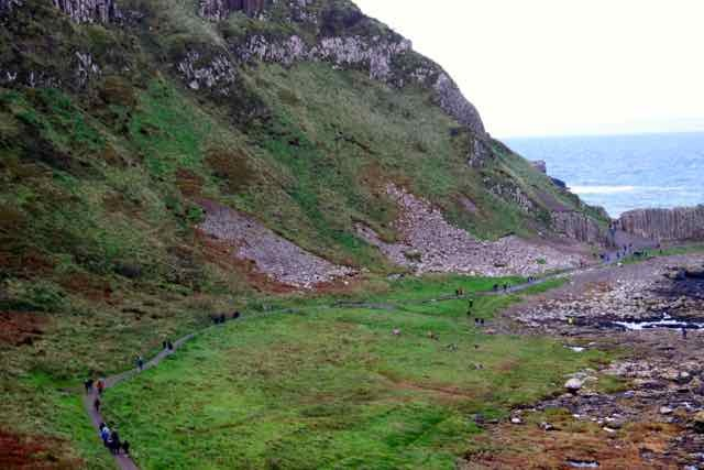 giants causeway,northern ireland,basalt columns,world heritage site,walking tracks,hiking