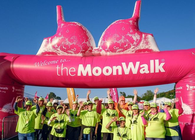 MoonWalk, Scotland, 2018, breast cancer, fun run, walk the walk, fundraiser, cancer research