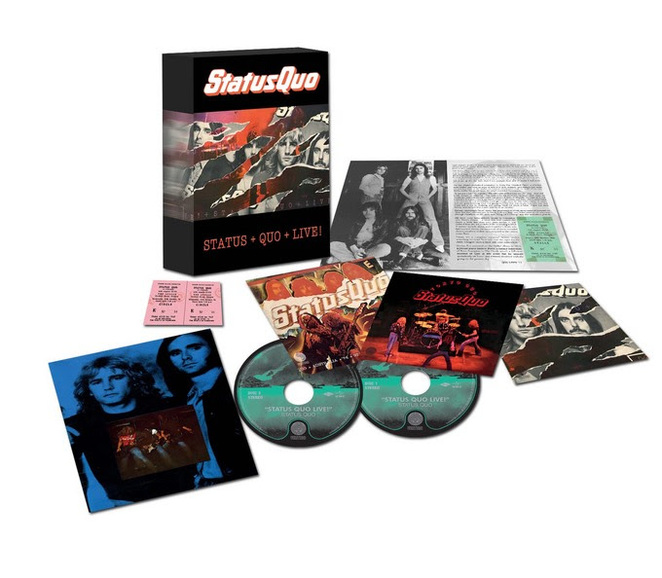 Status Quo Live Box Set