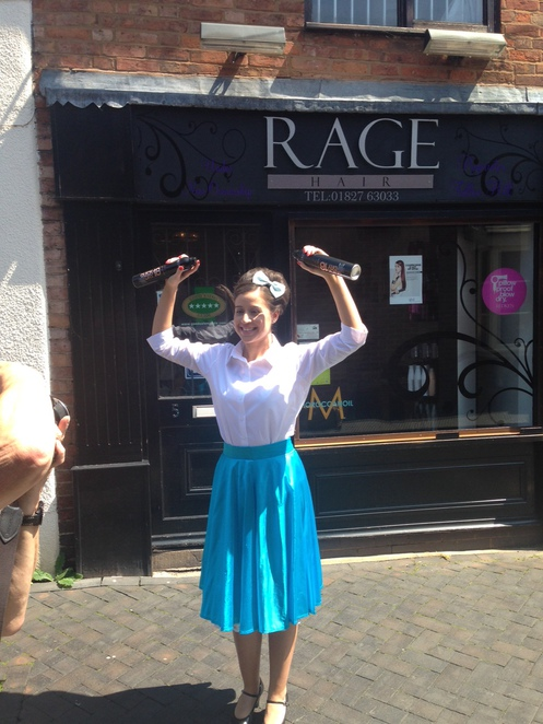 Hairspray, Rage salon, Tamworth Castle Grounds