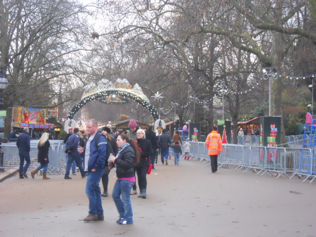 hyde park, winter wonderland